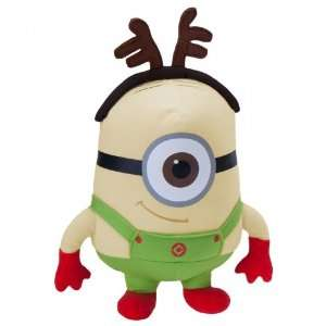 Despicable Me Stuart Reindeer Minion Plush: Everything