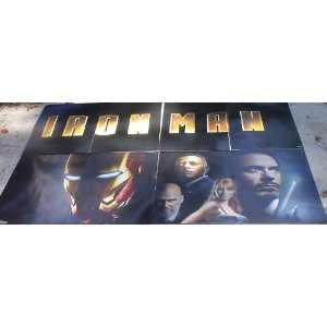 Iron Man Theatrical Display  Set of 8 24x41 Movie Poster Sized Card