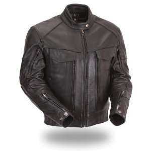 First MFG Xpert Performance Mens Dual Utility Vented Touring Leather