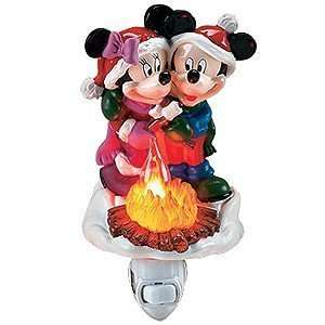 Disney Mickey and Minnie Mouse Christmas Campfire 7