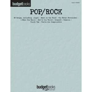 Pop/Rock   Easy Piano Budget Books   Easy Piano Songbook