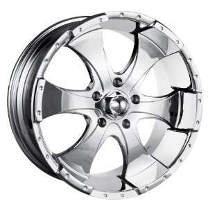 16x10 ION Alloy Style 136 (Chrome) Wheels/Rims 5x135 (136