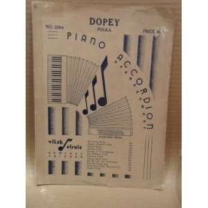 Dopey Polka Piano Accordion Arrangement (No. 3364): n/a