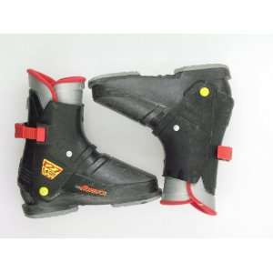 Used Nordica 127 Rear Entry Black Ski Boots Toddler
