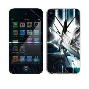 Touch 4th Gen Skin Decal Sticker   Abstract Tech City