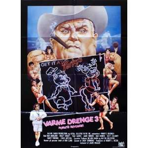 Porkys Revenge Poster Movie Danish (11 x 17 Inches   28cm x 44cm) Dan