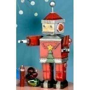 12 Retro Musical Decorative Robot Santa Claus Christmas