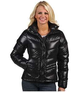 THE NORTH FACE WOMENS CARMEL JACKET BLACK HIGH SHINE LARGE $199
