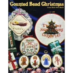 Counted Bead Christmas Cross Stitch With Beads Virginia Walker Books