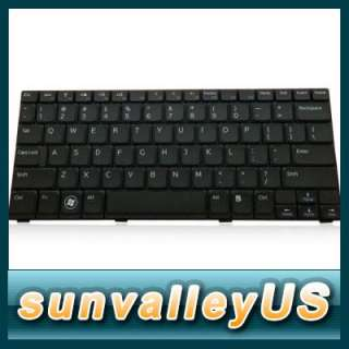 NEW Black Keyboard For Dell Inspiron Mini 1012 Keyboard PK1309W2A01 US