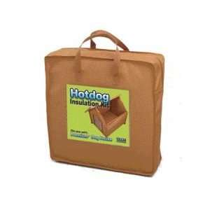Premium+ A Frame Hotdog Dog House Insulation Kit   Medium
