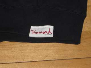 Diamond Supply OG Script Sweatshirt Wiz HUF Jetlife Large L Jetlife