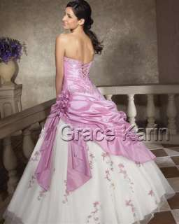 NWT Quinceanera Prom Ball Gowns Wedding Evening Party Cocktail Long