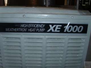 Trane XE 1000 High Efficiency Weathertron Heat Pump