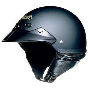 Open Face Motorcycle Helmet Matte Black Medium M 03 589 Automotive