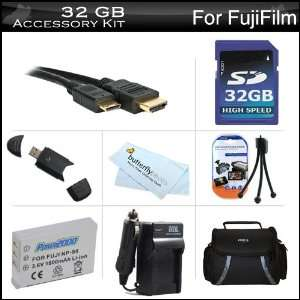 32GB Accessories Kit For Fuji Fujifilm X S1, XS1 Digital