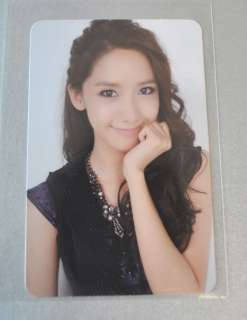 SNSD _ Girls Generation The boys Album _ YOONA Photo Card _ smtown