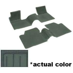 Chevy Bel Air/Biscayne/Chevelle/Nova Floor Mats   Dark Green, 2pc 62