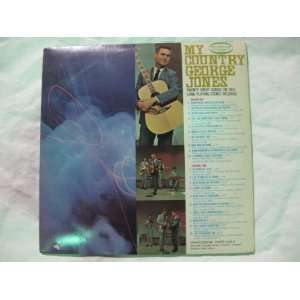 My Country George Jones Vinyl Record Music
