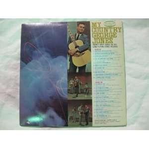 My Country George Jones Vinyl Record Music