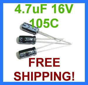 USA Seller 10pcs 100uF 50V 105C Radial Electrolytic Capacitor 8x11mm PANASONIC