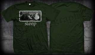 SLEEP GREEN SHIRT #2 OFFICIAL jerusalem holy mountain asbestos death