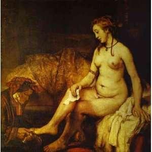 Bathsheba with King Davids Letter