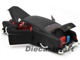 JADA DUB CITY 1:18 1951 MERCURY NEW DIECAST MODEL CAR MATTE BLACK W