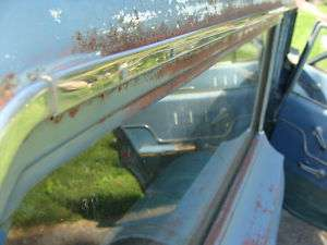 1963 1964 Impala Bel Air Wagon Chevy Drip Rail Stainles