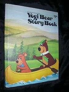 Yogi Bear Story Book Horace J Elias 1974 HB Very Nice Hanna Barbera