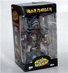 IRON MAIDEN 1970s Heavy Metal Rock EDDIE BOBBLEHEAD