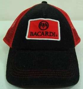 2cd71d8c033 ... Rum Black Red Bat Snapback TRUCKER Baseball Hat Cap NEW NWT ...