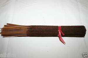 QUALITY HAND Made Oil DIPPED Incense Sticks LONG BURNING 1Hr
