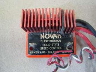 Vintage NOVAK 1 ESC Electronic Speed Control RC car truck buggy R/C