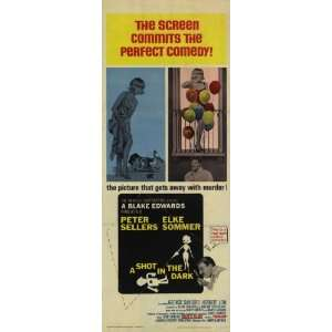 Shot in the Dark Movie Poster (14 x 36 Inches   36cm x 92cm) (1964