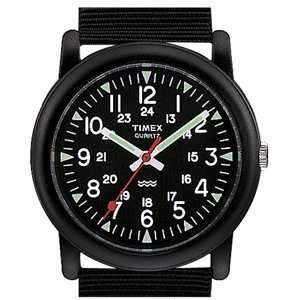 Timex   Classic, Black Dial, Black Nylon Strap Sports