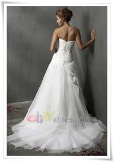 2011 New White Short Wedding Prom Gown Evening Dress