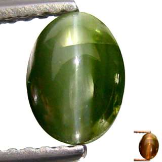 36 Ct Superior Earth Mine Rare 100% Natural Alexandrite Cats Eye