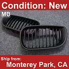 BMW E46 Front Grille 02 05 4 Door Kidney Style Black (Fits BMW)
