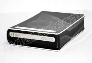 BLACK CHROME SKIN for Xbox 360 HD DVD drive system mod