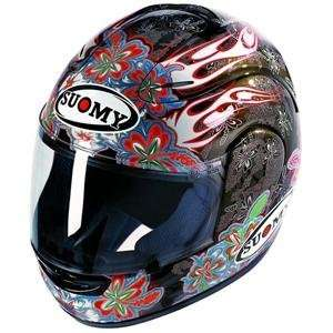 Suomy Spec 1R Hawaiian Flower Helmet   Small