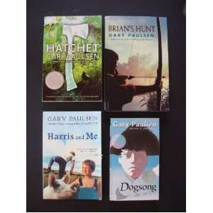 Gary Paulsen Set of 4 Books (Hatchet (Newbery Honor Book