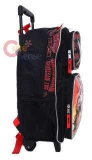WWE Wrestling School Rolling Backpack /Roller Bag 16 L