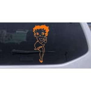 Betty Boop Hands Together Cartoons Car Window Wall Laptop