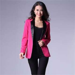 NEW Women Sexy Slim Short Jacket Lady Coat Blazer Casual Suit Outwear