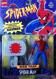 Spiderman Web Trap Action Figure Marvel KB Exclusive