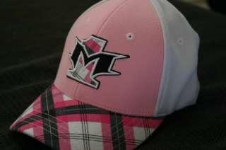 Moto 1 Pink Argyle Womens Hat