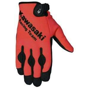 Joe Rocket Kawasaki ZX Crew Gloves   X Large/Black/Black