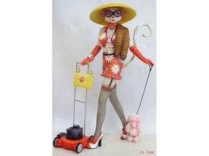 Alley Cats Margaret Le Van O Working Class Figure NIB Mowing