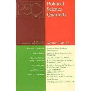 Quarterly Volume 100 (Numbers 1 4) 1985: Demetrios Caraley: Books